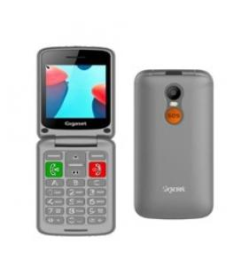 Telefono fijo inalambrico gigaset gl590 gris senior