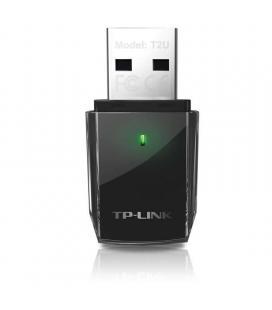 TP-LINK Archer T2U Tarjeta Red WiFi AC600 Nano USB