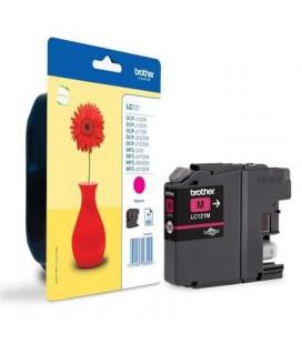 Brother Cartucho LC121MBP Magenta Blister - Imagen 1