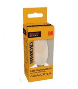 Bombilla kodak filamento opalo c37 - e14 - 420lm - calido 3000k - 4w=40w - no regulable
