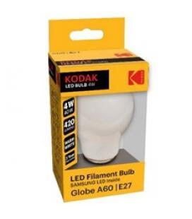 Bombilla kodak filamento opalo a60 - e27 - 420lm - calido 3000k - 4w=40w - no regulable