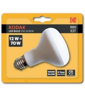 Bombilla kodak led reflectora r80 - e27 - 960lm - calido 3000k - 12w=70w - no regulable