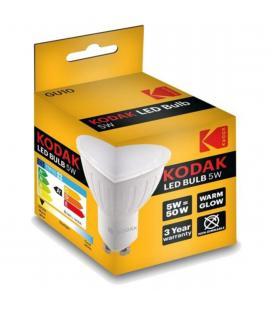 Bombilla kodak led dicroica gu10 - 400lm - calido 3000k - 5w=50w - no regulable