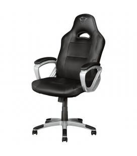 Silla gamer trust gaming gxt 705 ryon black - cilindro gas clase 4 - asiento reclinable - bastidor madera - peso máx. 150kg - Im