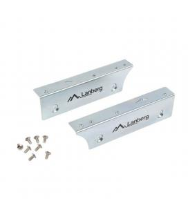 Adaptador metálico lanberg if-35-25 para bahía de 3.5'/8.89cm - permite instalar 1 disco 2.5'/6.35cm - incluye tornilleria