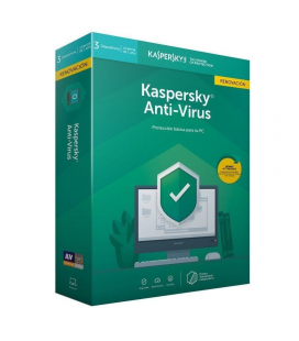 Antivirus kaspersky 2020 - renovacion 3 dispositivos - 1 año - no cd