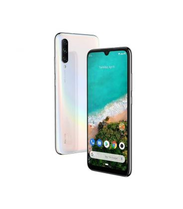 "SMARTPHONE MÓVIL XIAOMI MI A3 WHITE - 6.088""/15.4CM - OC SNAPDRAGON 665 - 4GB RAM - 64GB - CAM(48+8+2)/32MP - ANDROID ONE"