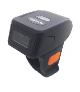 Lector de códigos de barras para dedo approx appls12r - 1d - bluetooth/rf 2.4ghz - disparo manual - bat. 380mah - negro/naranja