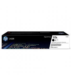 Toner negro hp w2070a - nº117a - 1000 páginas - compatible según especificaciones