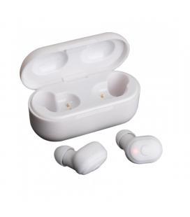 Auriculares bluetooth fonestar twins-2b blancos - bt 5.0 - batería recargable - estuche de carga 600mah - func. manos libres