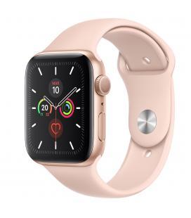 Reloj apple watch series 5 44 mm caja de aluminio con correa deportiva dorado