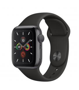 Apple watch series 5 gps 44mm caja aluminio gris espacial con correa negra deportiva - mwvf2ty/a
