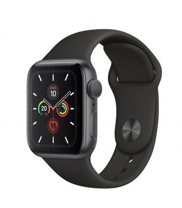Reloj apple watch series 5 44 mm caja de aluminio con correa deportiva space gray - Imagen 1