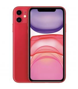 Telefono movil smartphone apple iphone 11 128gb rojo - 6.1pulgadas - dual sim