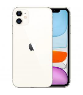 Telefono movil smartphone apple iphone 11 64gb blanco - 6.1pulgadas - dual sim