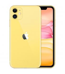 Telefono movil smartphone apple iphone 11 64gb amarillo - 6.1pulgadas - dual sim