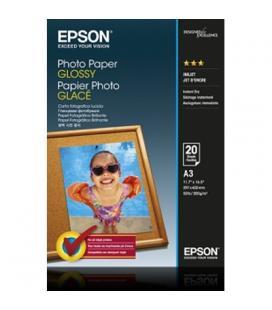 Epson papel foto A3 satinado 20 hojas - Imagen 1