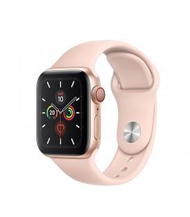 Apple watch series 5 gps cell 40mm caja aluminio oro con correa rosa arena deportiva - mwx22ty/a