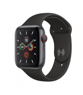 Apple watch series 5 gps cell 44mm caja aluminio gris espacial con correa negra deportiva - mwwe2ty