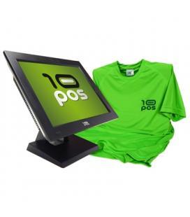10POS Léctor código de barras LS-270+camiseta - Imagen 1