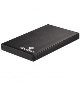 "CAJA HDD COOLBOX SLIMCHASE A-2512 2.5"" SATA USB2.0 NEGRA"