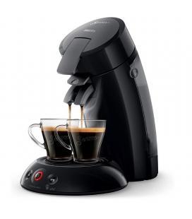 Cafetera philips senseo original negro - monodosis - crema plus - depósito 0.7 l - 1 bar - prepara 2 tazas a la vez - - Imagen 1