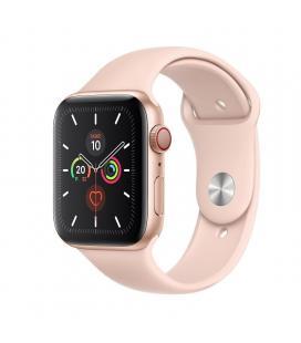 Apple watch series 5 gps cell 44mm caja aluminio oro con correa rosa arena deportiva - mwwd2ty/a