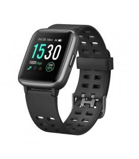 Reloj inteligente leotec multisport fit 814 negro - pantalla color 3.3cm - bt5.0 - pulsometro dinámico - notificaciones -