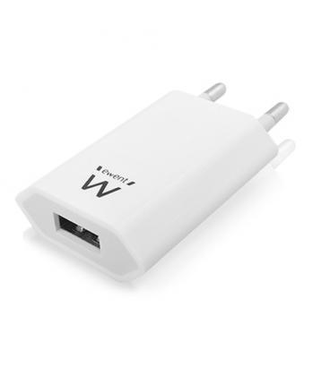 EWENT CARGADOR DE PARED 1 PUERTO USB 1A EW1209 - Imagen 1