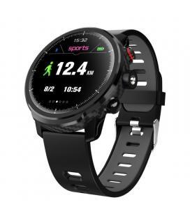 Reloj inteligente leotec multisports carbón sport fit gris - esfera 3.3cm táctil color - bt 4.0 - alertas - salud - ip68 -