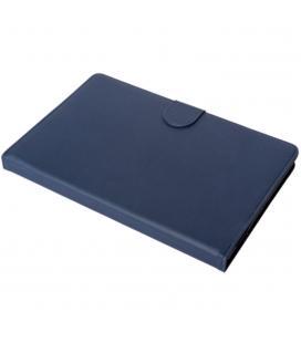 Funda silver ht para tablet samsung tab a 2019 10.1pulgadas (t510 - t515) con teclado bluetooth azul