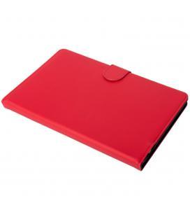 Funda silver ht para tablet samsung tab a 2019 10.1pulgadas (t510 - t515) con teclado bluetooth roja