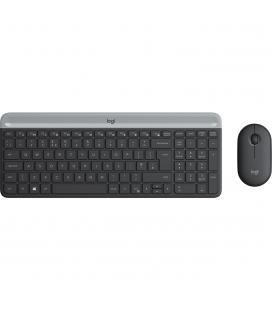 Teclado + mouse logitech mk470 wireless inalambrico