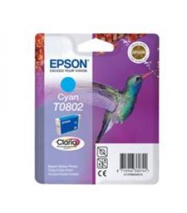 Cartucho tinta epson t080240 px810fw cian - Imagen 1