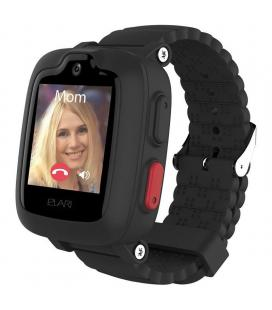 Reloj inteligente con localizador para niños elari kidphone 3g negro - pantalla táctil color - gps/lbs/wifi - videollamada -