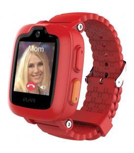 Reloj inteligente con localizador para niños elari kidphone 3g rojo - pantalla táctil color - gps/lbs/wifi - videollamada -