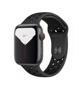 Apple watch nike series 5 gps cell 44mm caja aluminio gris espacial con correa antracita/negra nike