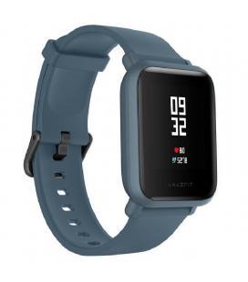 Reloj inteligente huami amazfit bip lite blue - pantalla 3.25cm - bt 4.2 - sensor frecuencia cardiaca - ip68 - bat.200mah