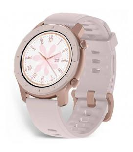 Reloj inteligente huami amazfit gtr 42mm cherry blossom pink - pantalla 3cm amoled - bt 5.0 - pulsómetro - notificaciones - gps