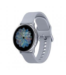 Reloj inteligente samsung galaxy watch active 2 r830 crown silver - 40mm - seguimiento ejercicio - frecuencia cardiaca -