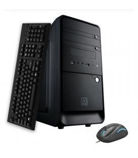 Kvx- free xline 1 intel i3 9100f 3,60ghz -8gb ddr4 2400mhz- 480gb ssd- gforce gt710 1gb- h310m - 500w reales 80bronze plus- - I