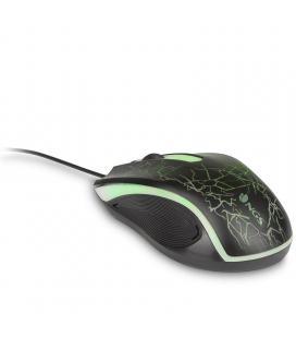 Ratón gaming ngs gmx-115 - 1200dpi - iluminación led 7 colores - 3 botones + rueda - cable usb 1.35m