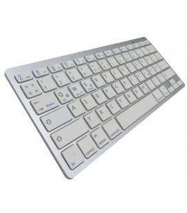 Teclado bluetooth subblim 1dyc001 dynamic compact silver - bt 3.0 - 78 teclas - compatible con apple/android/windows