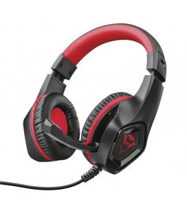 Auriculares con micrófono trust gaming gxt 404r rana para nintendo switch - drivers 40mm - micrófono plegable - cable 1m jack