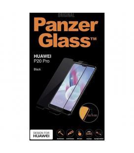 Protector de pantalla panzerglass 5299 para huawei p20 pro negro - cristal templado - borde a borde