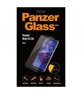 Protector de pantalla panzerglass 5326 para huawei mate 20 lite negro - cristal templado - borde a borde