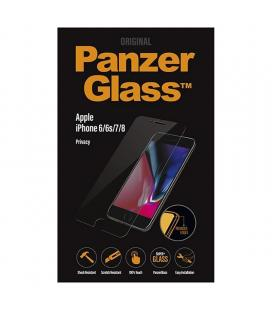 Protector de pantalla panzerglass p2003 para iphone 6/6s/7/8 - cristal templado 0.4mm - bordes redondeados - filtro privacidad
