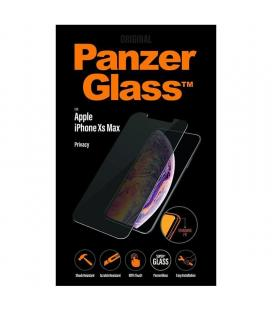 Protector de pantalla panzerglass p2639 para iphone xs max - cristal templado 0.4mm - filtro privacidad - reducción luz azul