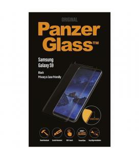 Protector de pantalla panzerglass p7142 para samsung galaxy s9 negro - cristal templado - filtro privacidad - reducción luz azul