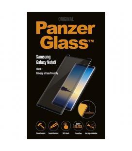 Protector de pantalla panzerglass p7162 para samsung galaxy note9 negro - cristal templado 0.4mm - filtro privacidad -